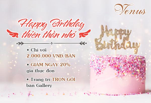 Happy Birthday Thiên Thần Nhỏ